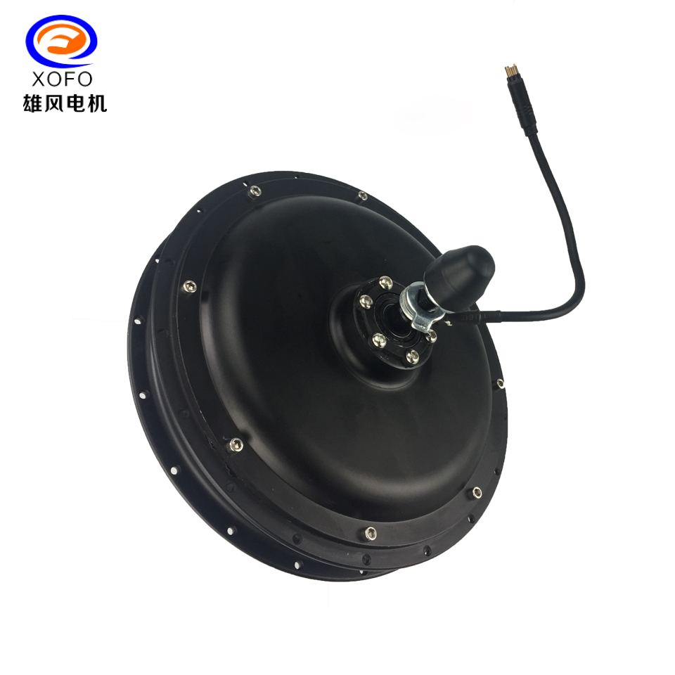 open size 135MM Electric Bike Hub Rear Motor 1000W