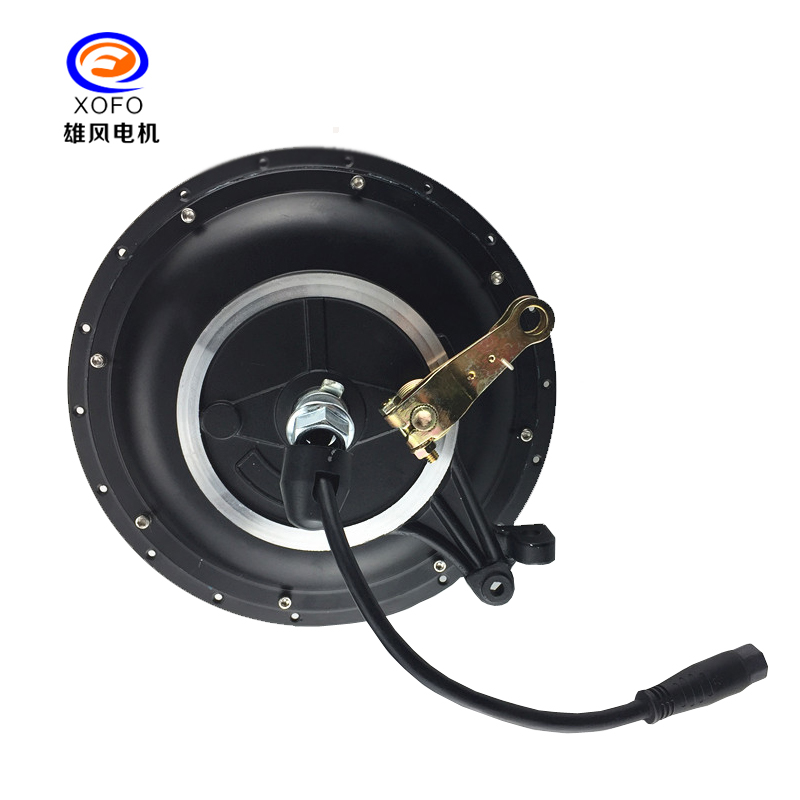 Black HUB motor with cassette 1500W HUB motor can supply rim and spoke